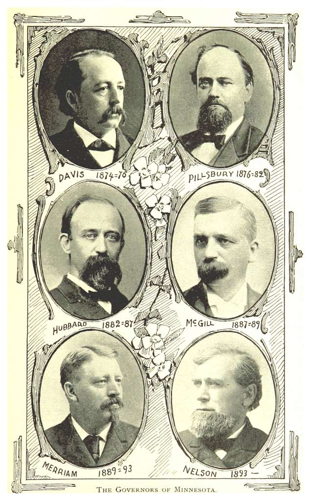 MN1893 pg029 THE GOVERNORS OF MINNESOTA