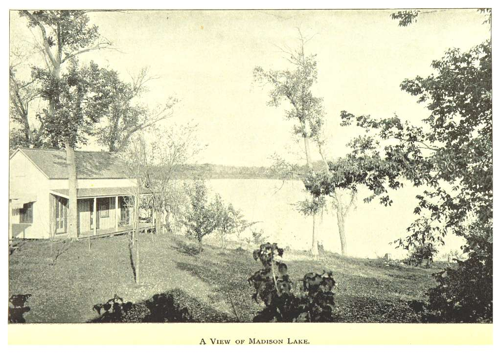MN1893 pg046 A VIEW OF MADISON LAKE