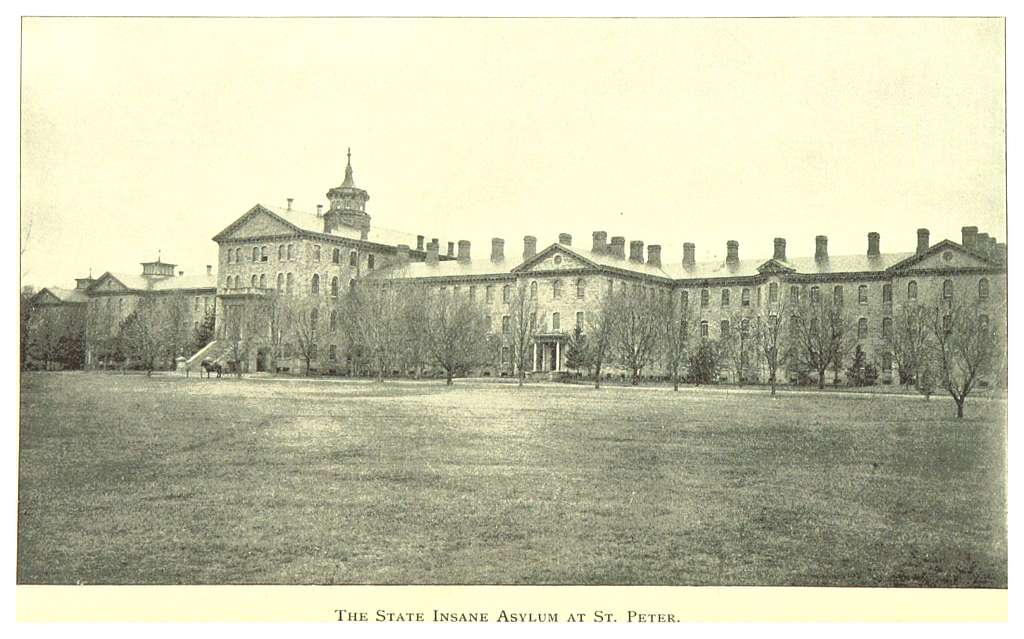 MN1893 pg064 THE STATE INSANE ASYLUM AT ST. PETER