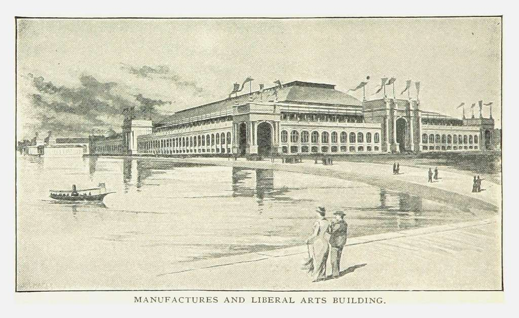 PRR(1893) p108 MANUFACTURES AND LIBERAL ARTS BUILDING, Chicago