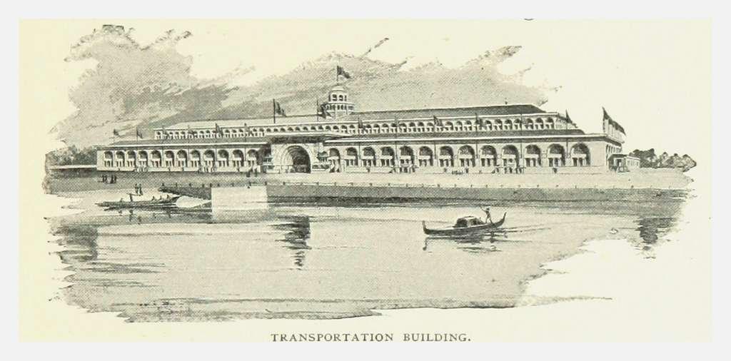 PRR(1893) p129 TRANSPORTATION BUILDING, Chicago
