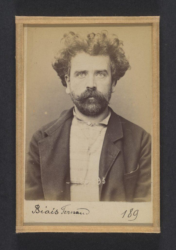 Biais. Fernand, Alphonse. 41 ans, né le 28/6/53 à Laval (Mayenne). Tourneur sur bois. Anarchiste. 2/7/94.
