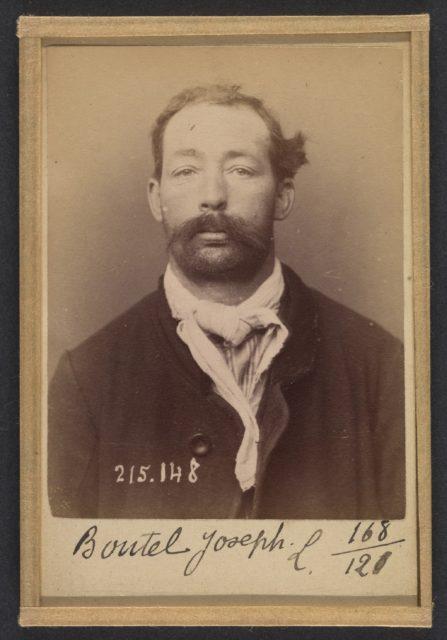 Boutel. Joseph. Louis. 34 ans, né à Bonnay (Eure). Corroyeur. Anarchiste. 5/3/94.