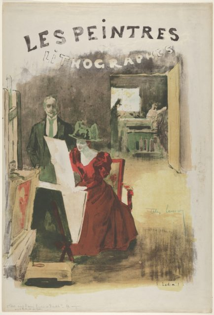 Cover for Les Peintres Lithographes