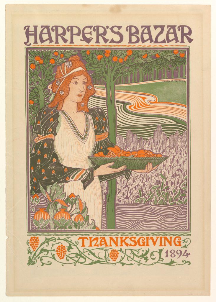 Harper's Bazar: Thanksgiving