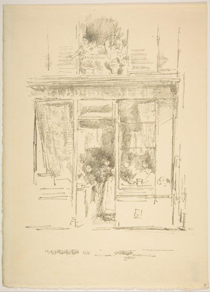 La Blanchisseuse de la Place Dauphine