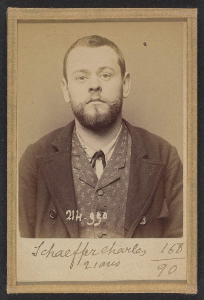 Schaffer. Charles. 28 ans, né à Paris Xle. Ébéniste. Association de malfaiteurs. 2/3/94