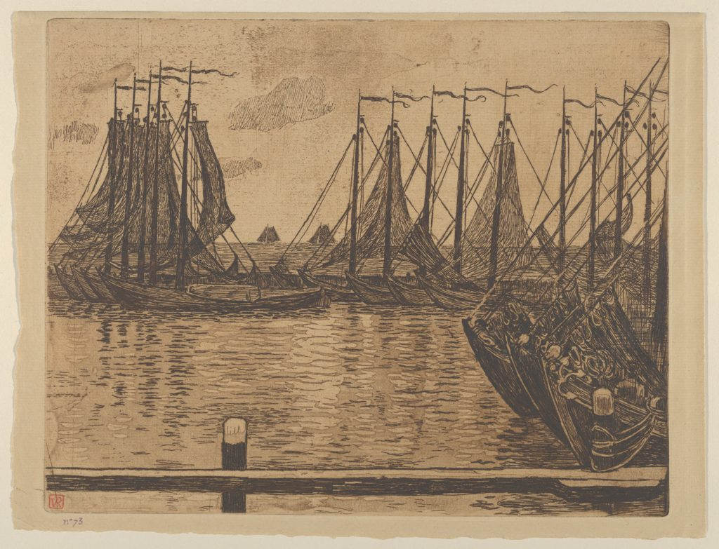 The Fishing Fleet (Flotille de pêche)