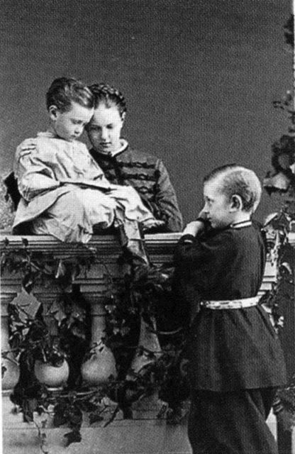 Future Alexander III, the Emperor of Russia