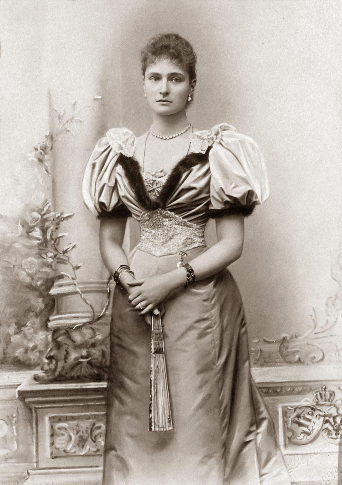 Alexandra Feodorovna while Princess Alix of Hesse and by Rhine . 1894.