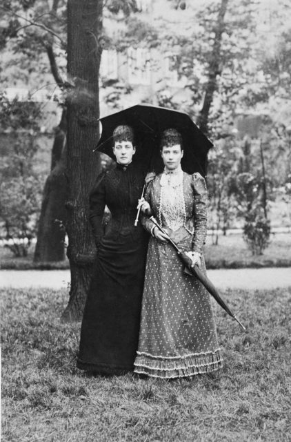 Empress Maria Feodorovna and her sisters. Denmark.