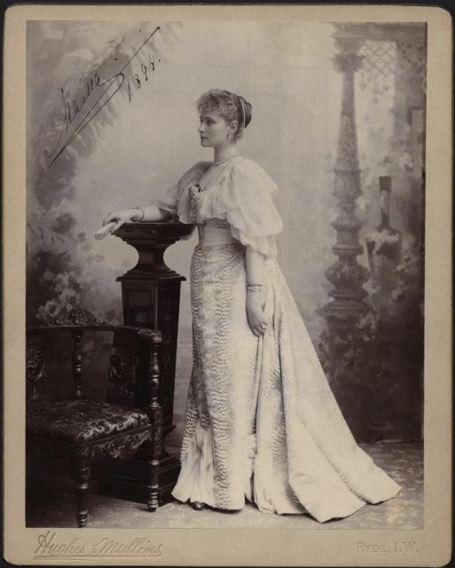 Princess Alix of Hesse. 1894.