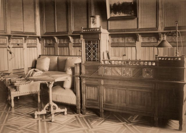 The office of the heir to the crown prince. Palace in Belovezh