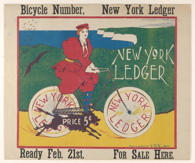 New York Ledger: Bicycle Number