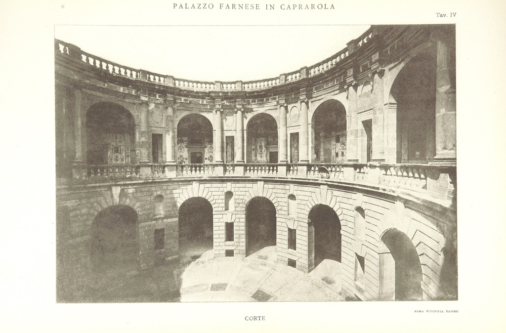 "architecture from ""Palazzo Farnese in Caprarola. [With plates.]"""
