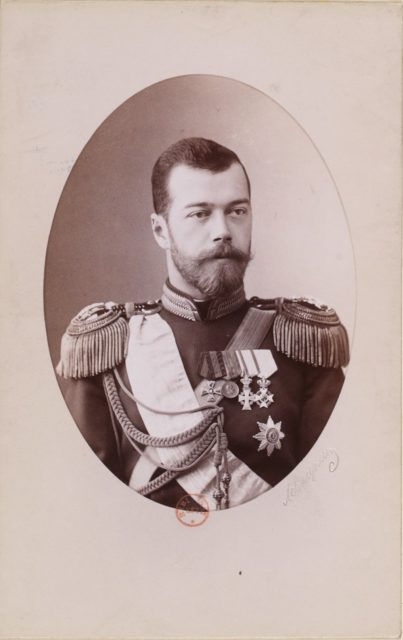 Emperor of Russia Nicolas II portrait, Paris