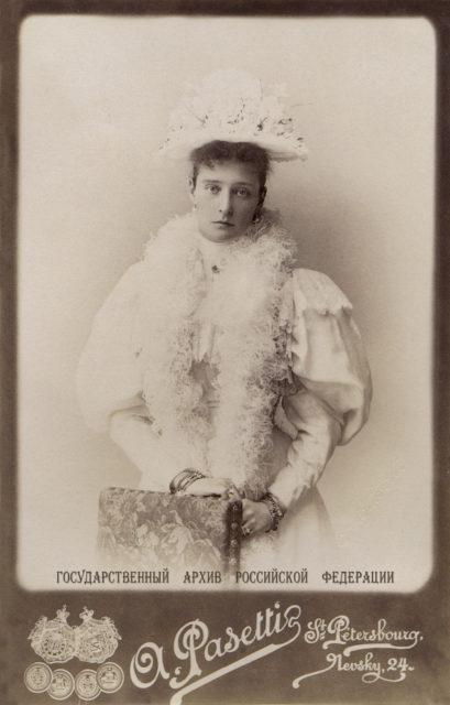 Empress Alexandra Feodorovna 1895.
