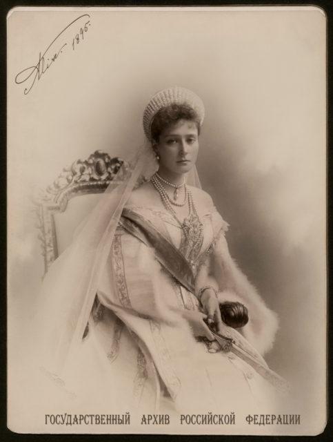 Empress Alexandra Feodorovna . 1895.