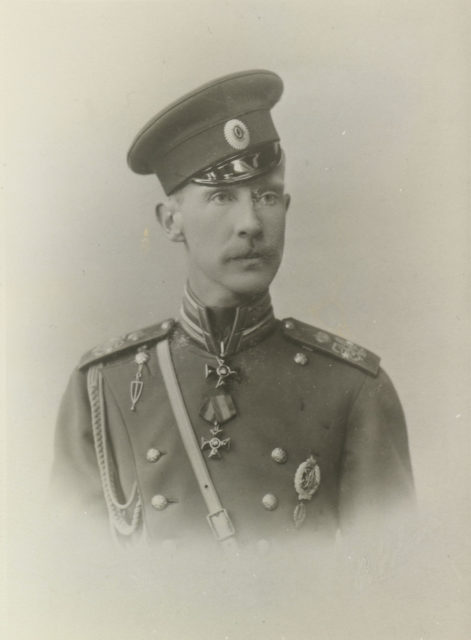 Grand Duke Dimitry Konstantinovich Romanov