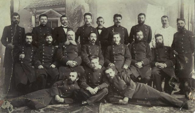 Teachers of the Kirzhach Teacher's Seminary with P. A. Soloviev (before 1895)