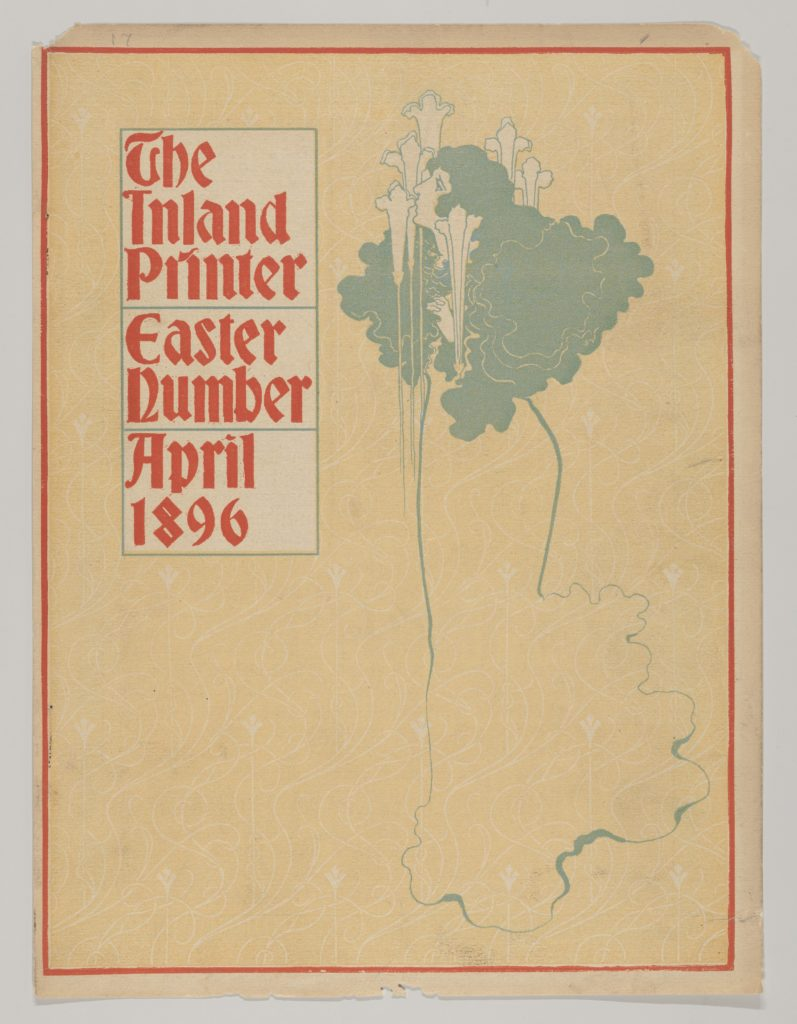 Cover: The Inland Printer, The Easter Number