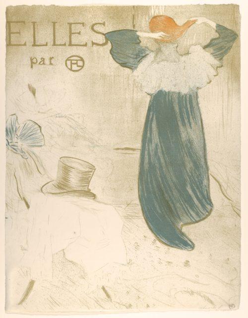 Elles (portfolio cover)