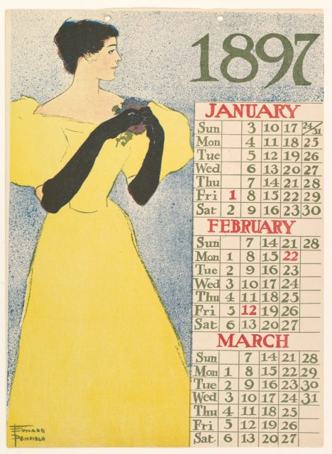 January, February, March 1897