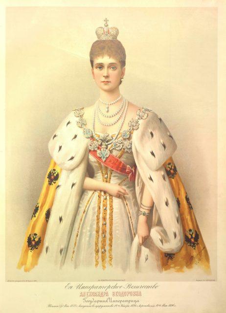 Alexandra Feodorovna - Russian Emperors and Empresses