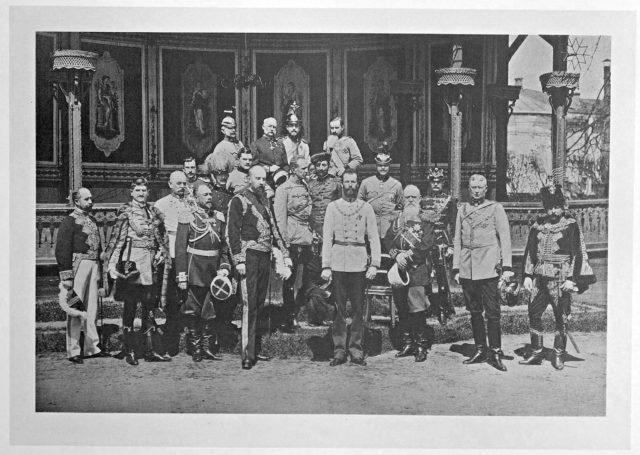 Austro-Hungarian Guests of the Coronation of Emperor Nicholas II and Empress Alexandra Feodorovna, 1896.