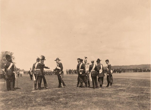 Celebration Parade on the Khodynka Field.
