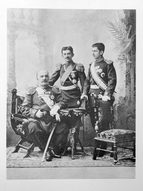Chernogoria Guests of the Coronation of Emperor Nicholas II and Empress Alexandra Feodorovna, 1896.