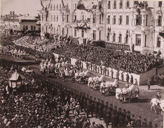Coronation coach of Empress Alexandra Feodorovna