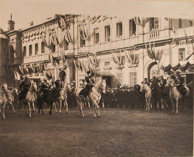 Nicholas II coronation, 1896