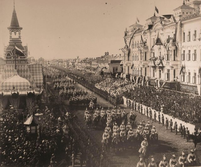 Leib guards: Coronation of Emperor Nicholas II and Empress Alexandra Feodorovna, 1896