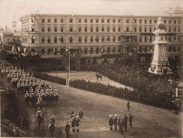 Leib guards. Coronation of Emperor Nicholas II and Empress Alexandra Feodorovna, 1896