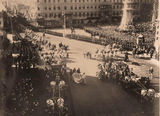 Empress Alexandra Feodorovna, 1896 Coronation