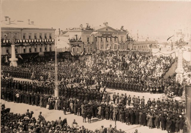 Coronation, Moscow