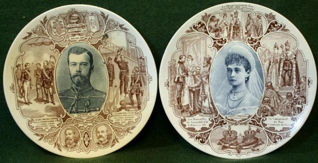 Emperor Nicholas and Empress Alexandra Feodorovna in Paris. October 5-9, 1896.