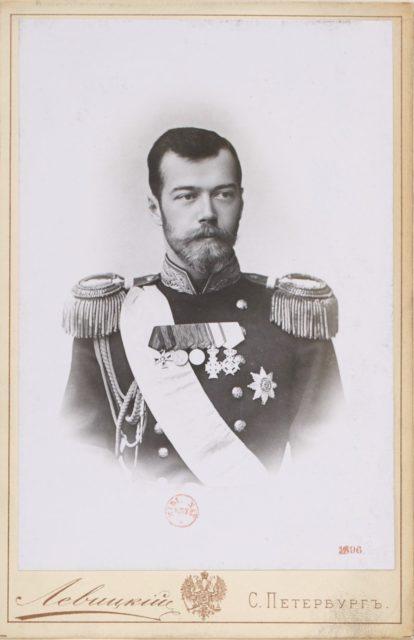 Emperor of Russia Nicolas II portrait 1896, St Petersburg