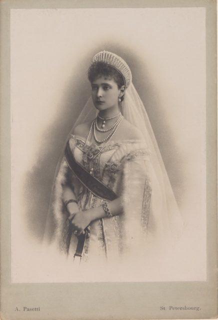 Empress of Russia Alexandra Feodorovna, St. Petersburg