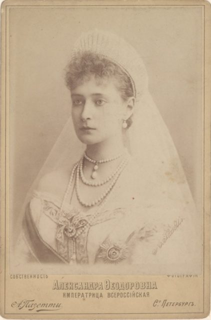 Empress of All-Russia Alexandra Feodorovna