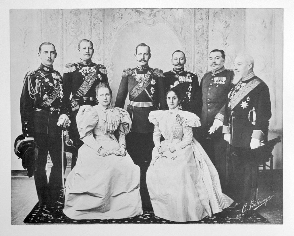 Greece Guests of the Coronation of Emperor Nicholas II and Empress Alexandra Feodorovna, 1896.