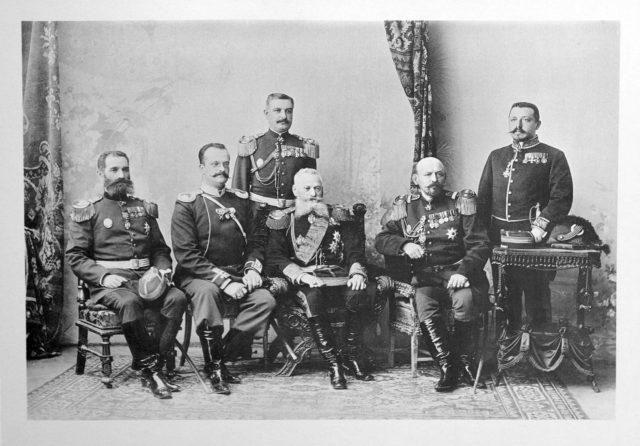 France? Guests of the Coronation of Emperor Nicholas II and Empress Alexandra Feodorovna, 1896.