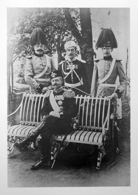 Monte-Negro? Guests of the Coronation of Emperor Nicholas II and Empress Alexandra Feodorovna, 1896.