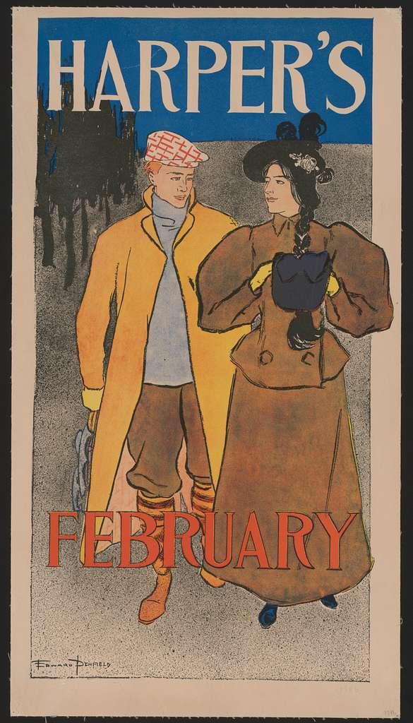 Harper's (for) February LCCN2015646455