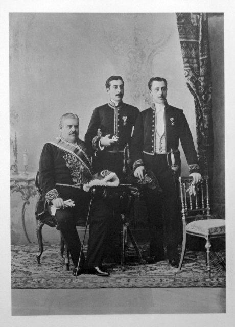 Mexican Delegation of the Coronation of Emperor Nicholas II and Empress Alexandra Feodorovna, 1896.