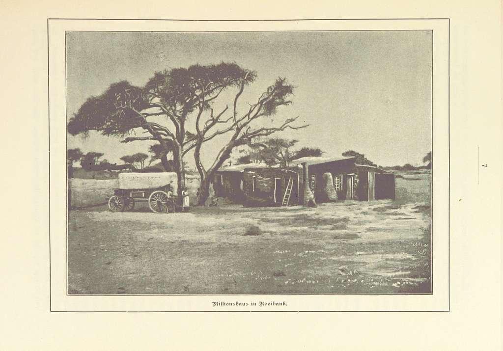 Nama und Damara pg019 Missionshaus in Rooibank