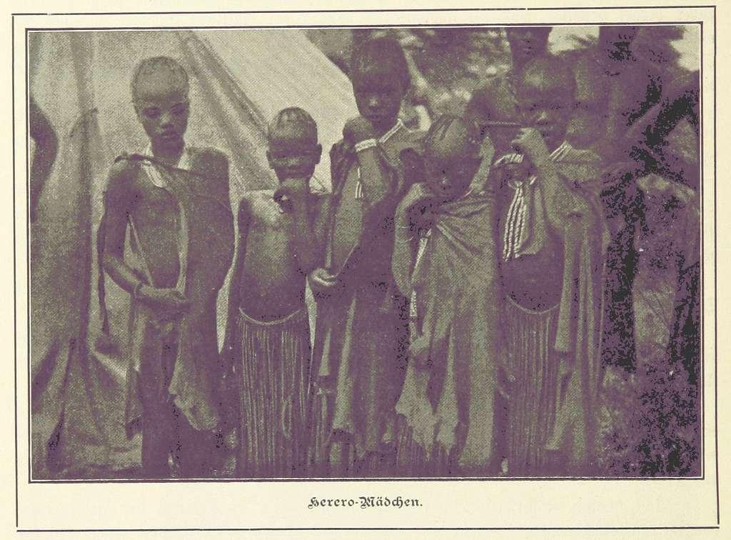 Nama und Damara pg196 Herero-Mädchen