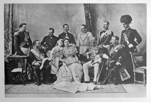 Netherlands Delegation on the Coronation of Emperor Nicholas II and Empress Alexandra Feodorovna, 1896.