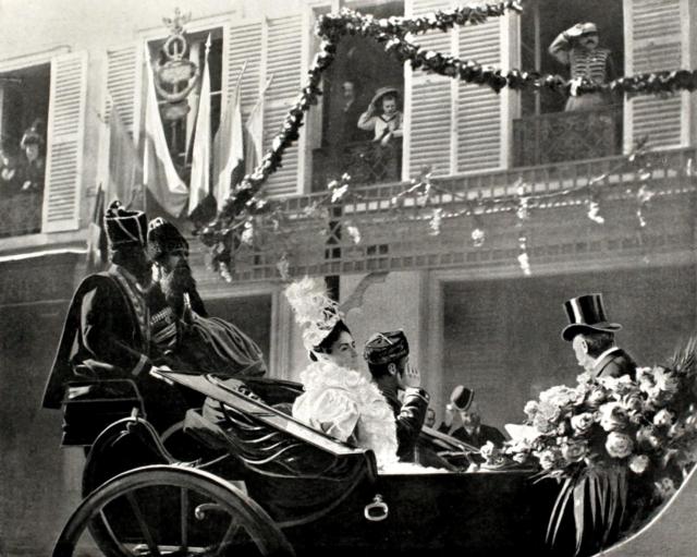 Nicholas II, Empress Alexandra Feodorovna, Paris, 1896